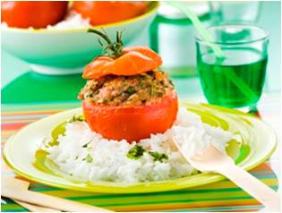 petite tomate farcie à l'agneau2